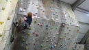 Leading at Rockcity Climbing Centre